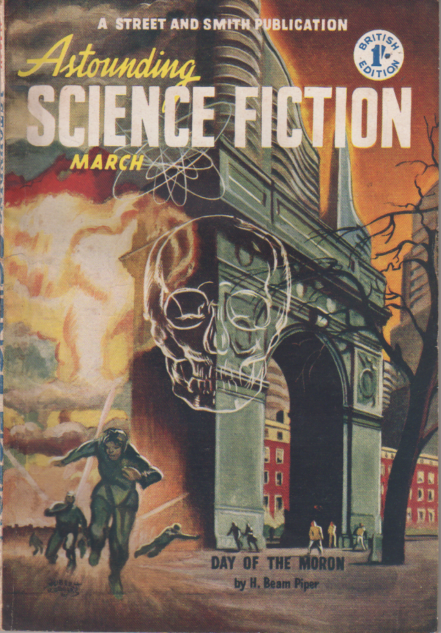 Image - Astounding Science Fiction (UK), March 1952