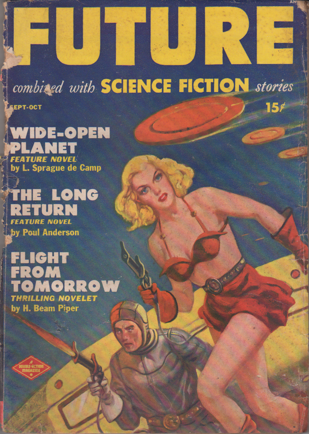 Image - Future combined with Science Fiction Stories, September/October 1950