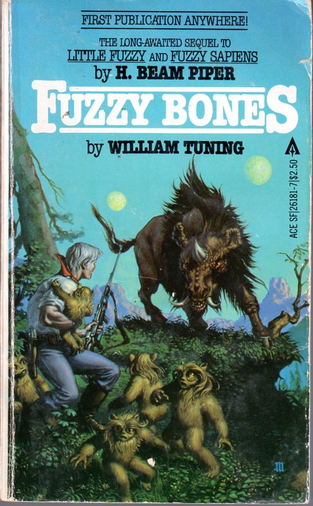 Fuzzy Bones by Michael Whelan