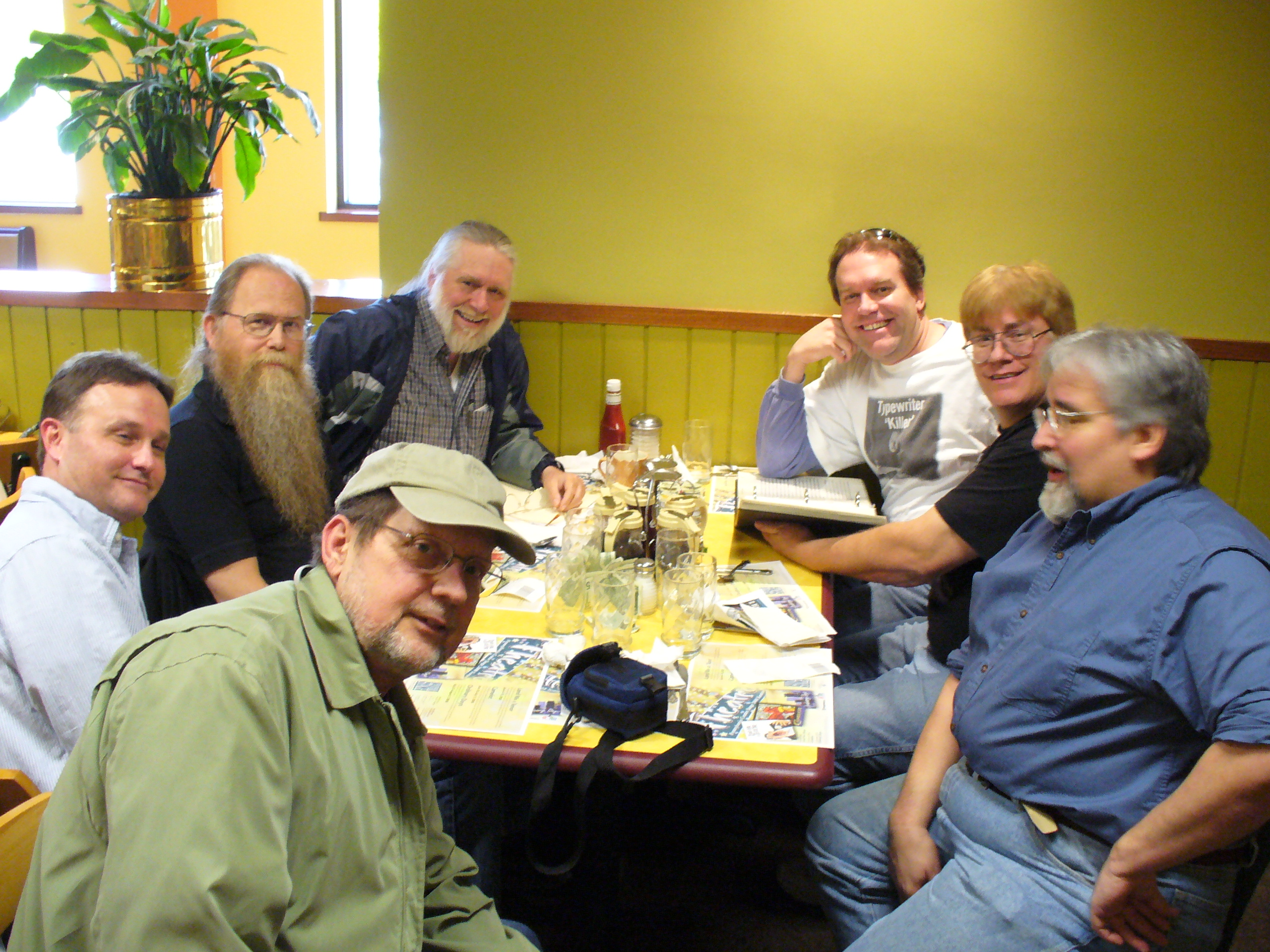 Piper Irregulars Muster at the Pancake House, 2008