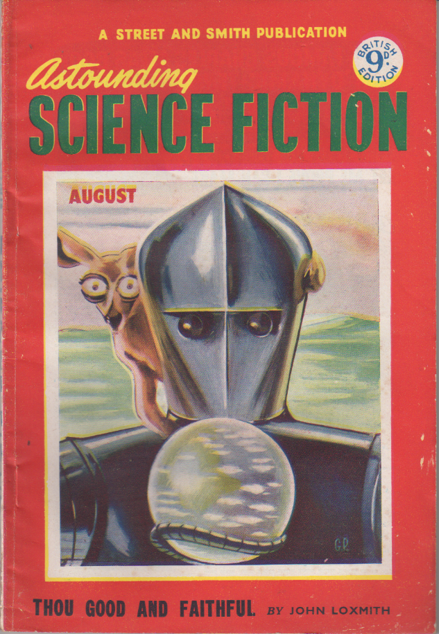 Image - Astounding Science Fiction (UK), August 1953