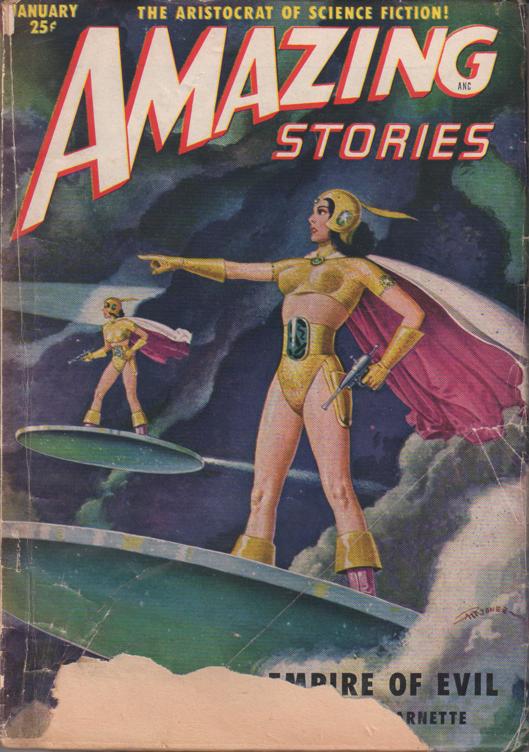 Image - Amazing Stories, January 1951