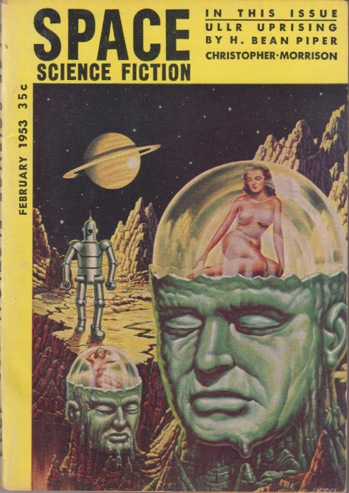 Image - Space Science Fiction, February 1953