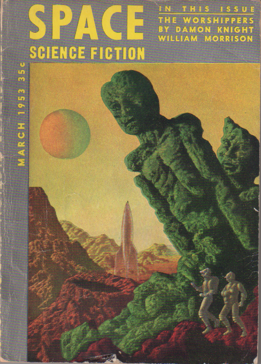 Image - Space Science Fiction, March 1953